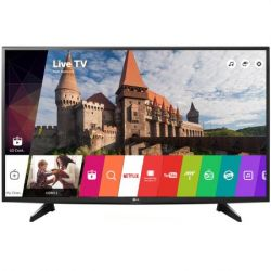 Televizor LED Smart LG 49LH590V diagonala 123 cm (49 inch), smart TV, Full HD, negru