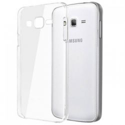Husa Silicon TPU pentru Samsung Galaxy J1 2016 Transparenta