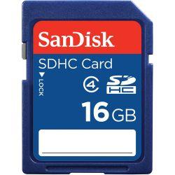 Card de memorie SanDisk SDHC, 16GB