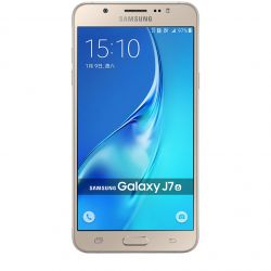 "Telefon SAMSUNG Galaxy J7 2016 5.5"" 720x1280 pixels (HD), 2G, 3G, 4G, Octa core 2 GB RAM, stocare 16 GB, Auriu, cameră fată 5 MP, cameră spate 13 MP, Android 6.0 (Marshmallow)"