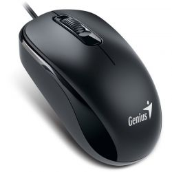 Mouse cu fir GENIUS DX-110, negru, optic, USB