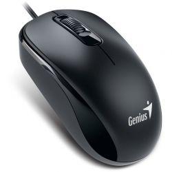 Mouse cu fir GENIUS DX-110, negru, optic, PS-2