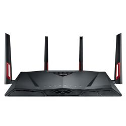 Router Wireless Asus RT-AC88U, Gigabit, Dual Band, 3100 Mbps
