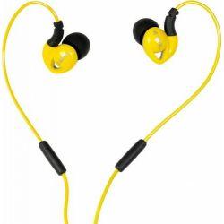 Casti audio Sport I-BOX S1 pentru telefon mobil Galben/Negru