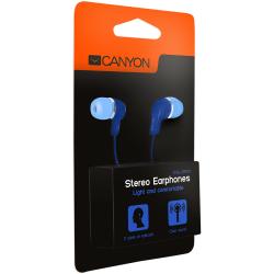 Casti cu microfon CANYON CNS-CEPM02BL Albastre