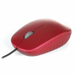 Mouse cu fir NGS Flame, rosu, optic, USB