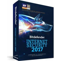 Antivirus BITDEFENDER Internet Security 2017, 1 utilizator, 1 an