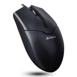 Mouse cu fir A4TECH V-track Padless OP-550NU-1, negru, optic, USB