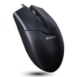 Mouse cu fir A4TECH V-track Padless OP-550NU-1, negru, optic, USB