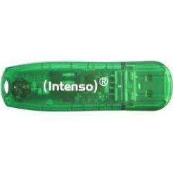 Memorie externa Intenso Rainbow Line Green 8GB