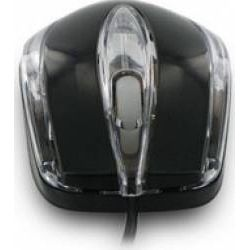 Mouse cu fir 4WORLD 06708, negru, optic, USB