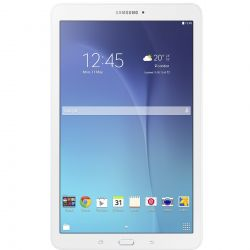 "Tableta SAMSUNG Galaxy Tab E  9.6"" 1280x800, 2G, 3G, Single SIM, Quad core, 1.5 GB RAM, stocare 8 GB, Alb, cameră față 2 MP, cameră spate 5 MP, Android 4.4 (KitKat)"