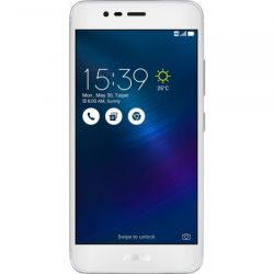 """Telefon ASUS ZenFone 3 Max, 5.2"""", Dual SIM, 4G, Quad Core, 2GB RAM, stocare 32GB, Silver, Camera Fata 5 Mp, Camera Spate 13 Mp, Android 6.0 Marshmallow"""