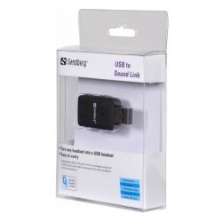 Placa de sunet SANDBERG externa Sound Link USB