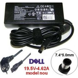 Incarcator laptop DELL 19.5V, 4.62A, 7.4 x 5mm