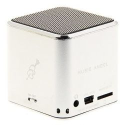 Boxa Portabila MUSIC ANGEL alimentare USB, Radio Fm, Suport TF(Micro SD), U-Disk Gri