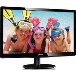 Monitor LED PHILIPS 220V4LSB/00 22 inch 5ms Negru