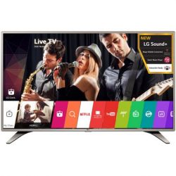 Televizor LED Smart LG 49LH615V diagonala 123 cm (49 inch), smart TV, Full HD, argintiu