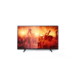 Televizor LED PHILIPS 43PFS4001 diagonala 109 cm (43 inch), Full HD, negru