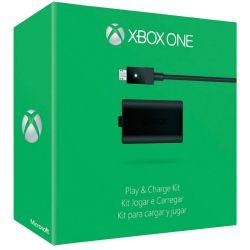 Kit incarcator MICROSOFT Xbox One Play & Charge Negru