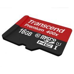 Card de Memorie TRANSCEND Premium Micro SDHC 16GB UHS-I CL10