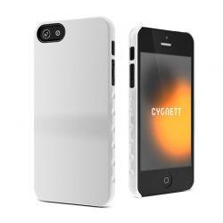 Husa Spate CYGNETT AeroGrip Feel pentru iPhone 5/5S Alba