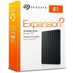 Hard disk extern SEAGATE Expansion 2TB 2.5 inch USB 3.0 Negru