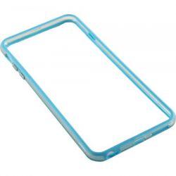 Bumper SERIOUX pentru iPhone 6 Plus Silicon Albastru
