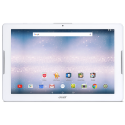 "Tableta ACER Iconia One B3-A30 10.1"" 1280x800, Quad core, 1 GB RAM, stocare 16 GB, Alb, cameră față 2 MP, cameră spate 5 MP, Android 6.0 (Marshmallow)"