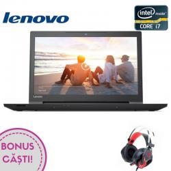 Laptop LENOVO V310, 15.6''FHD, procesor Intel® Core™ i7-6500U 3.10 GHz, RAM 4GB DDR4, HDD 1TB, placa video Radeon R5 430M 2GB, FingerPrint Reader, DVD-RW, FreeDos, negru