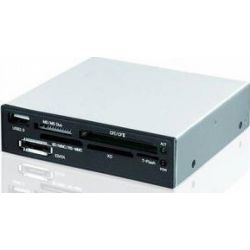 Cititor carduri I-BOX 88in1 + USB 3.0, negru, intern