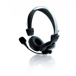 Casti cu Microfon I-BOX HPI 203MV Negre