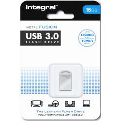 Memorie Flash INTEGRAL Fusion 16GB, argintiu