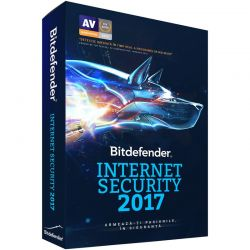 Antivirus BITDEFENDER Internet Security 2017, 3 utilizatori, 1 an