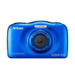 Aparat Foto Compact NIKON Coolpix Waterproof W100 Albastru
