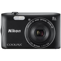 Aparat Foto Compact NIKON Coolpix A300 Negru