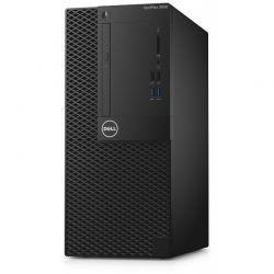 Sistem desktop Dell OptiPlex 3050 MT, Procesor Intel® Core™ i5-7500 3.4GHz Kaby Lake, 4GB DDR4, 500GB HDD, GMA HD 630, Win 10 Pro