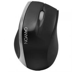 Mouse cu fir CANYON CNR-MSO01NS, negru/gri, optic, USB