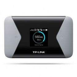 Router Wireless TP-LINK M7310, Dual Band, 4G LTE, slot SIM, micro SD, 300 Mbps, baterie 2000 mAh