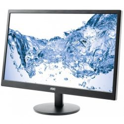 Monitor LED AOC E2470SWH 23.6 inch 1 ms Black