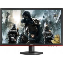 Monitor LED AOC Gaming G2460VQ6 24 inch 1ms Black-Red FreeSync 75Hz