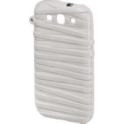 Husa HAMA Musubo Rubberband pentru Samsung Galaxy S3 Alba