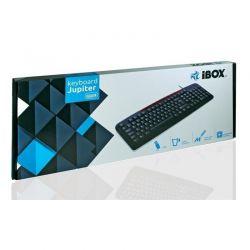 Tastatura cu fir USB I-BOX JUPITER, negru