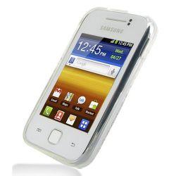 Husa Silicon TPU pentru Samsung Galaxy Y S5360 Transparenta