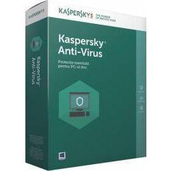 Antivirus KASPERSKY, 2 utilizatori, 1 an
