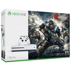 Consola XBOX ONE SLIM 1TB + Gears Of War 4, Cod Download