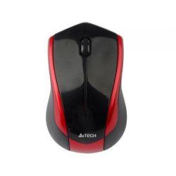 Mouse wireless A4TECH G7 V-track Padless, negru/rosu, optic, USB