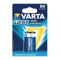 Baterie Alkalina VARTA High Energy 9V LR22