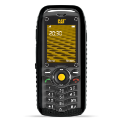 "Telefon CATERPILLAR B25  2"" 240x320 pixels, 2G, Dual SIM, Single core, 256 MB RAM, stocare 0.5 GB, Negru, cameră spate 2 MP,"