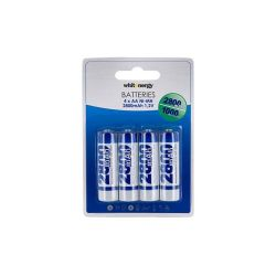 Baterie WHITENERGY AA NI-MH R6 2800MAH